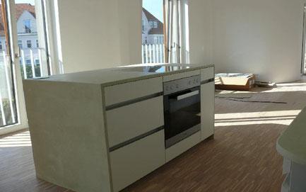 Küche - LEOSTEEN Steinholz betoncire