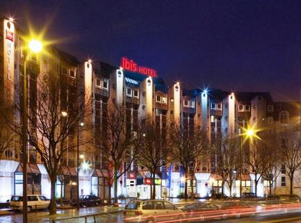 Unser Hotel, das Ibis La Vilette Paris