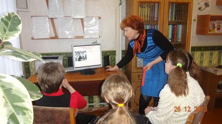 Библиотекарь школы - Колесникова Маргарита Дмитриевна.