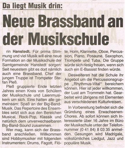 Wochenblatt Marsch & Heide 05.03.1998