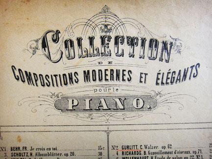 Коллекция современных композиций для фортепиано