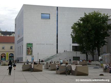 Die Führung durch das Leopoldmuseum im Museumsquartier zeigt Meisterwerke der Wiener Secession, der Wiener Modernen und des österreichischen Expressionismus.