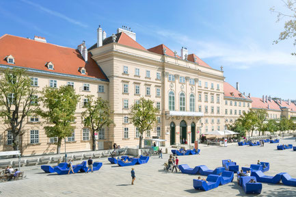 Museumsquartier Vienna, Austria Copyright mRGB