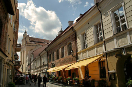 Vilnius top things to do - Pilies Street - Copyright  jo.sau