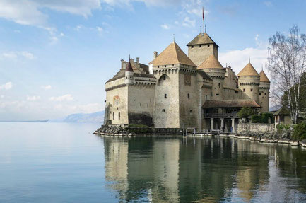 Montreux top things to do - Chillon Castle - Copyright  Christopher Michel