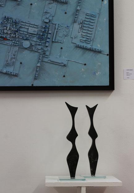 Heidrun Feistner: Blackbird singing in the dead of night 1 und 2 / Ausstellung Madrid Eka& Moor / Foto HF