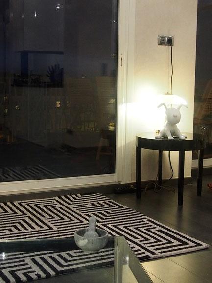 Nice Centre-Luxe-Terrasse et son luxueux salon