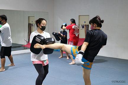女性や体力に自信のない方もご自分のペースで練習できます