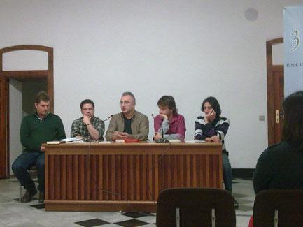 Ben Clark, Víktor Gómez, Raúl Campoy, Óscar Pirot y Daniel Bernal Suárez