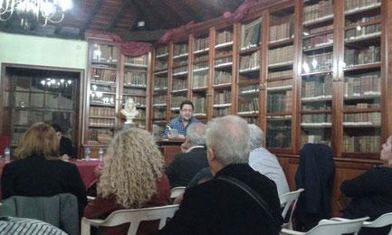 Daniel Bernal Suárez en la Real Sociedad Cosmológica de Santa Cruz de La Palma