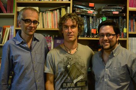 Ricardo Hernández Bravo, Joaquín Iriarte y Daniel Bernal Suárez