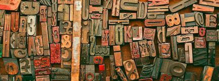 Buchstaben, Letter, Type.