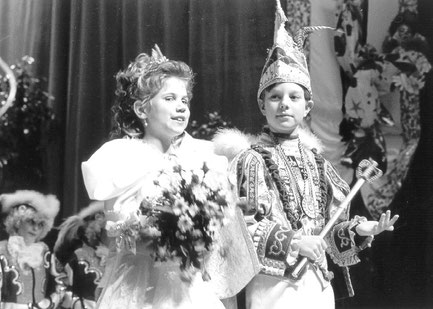1992 / 1993 Kinderprinzenpaar Christian I. (Jung) & Katharina I. (Möller)