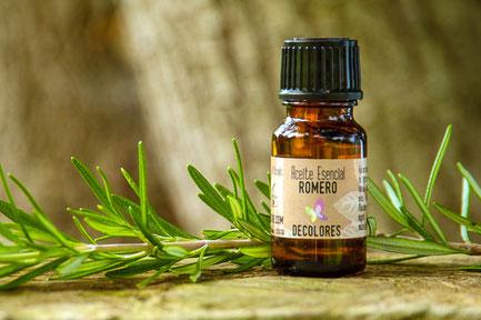aceite esencial de romero-cosmética natural ecológica certificada