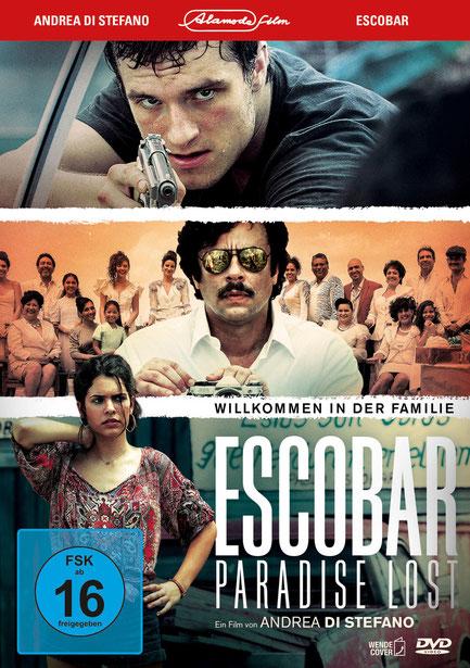 Escobar Paradise Lost DVD - Josh Hutcherson - Benicio Del Toro - Alamode - kulturmaterial - Fan Artikel Gewinnspiel