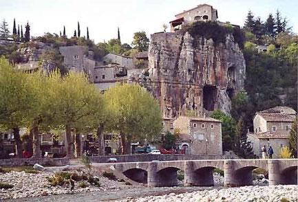Le village de Labeaume