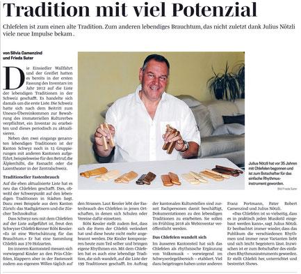 #Weltkulturerbe #Dä Nötzli mit dä Chlötzli #Chlefelen #Julius Nötzli