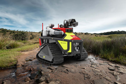 Der neue Magirus Einsatzroboter Wolf R 1