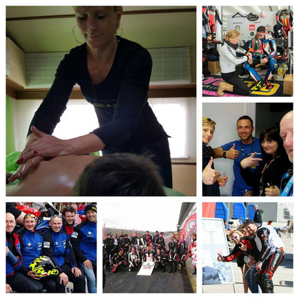 Rennstrecke Motorsport Massage Hafeneger-Renntrainings deutschlandweit und europaweit