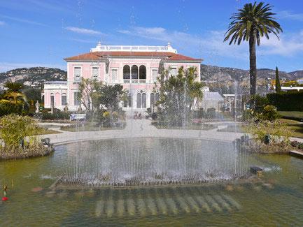 Städtereise Frankreich Villa Rothschild bei Nizza