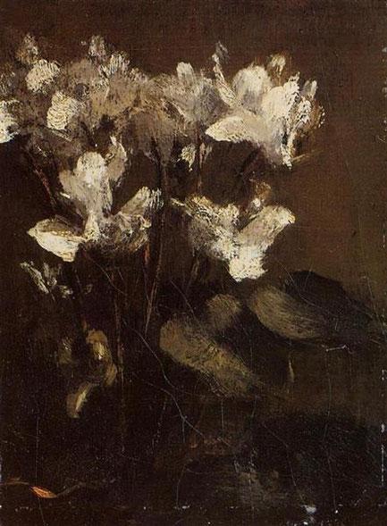 Henri Fantin-Latour, Ciclamini, 1860