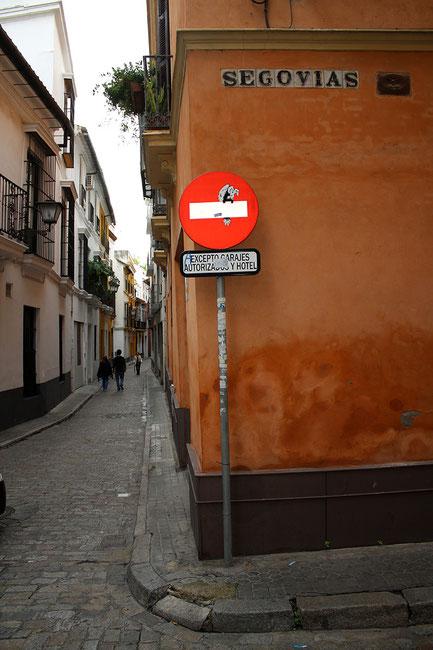 Séville Calle Segovias