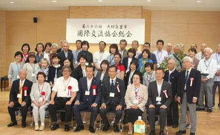 金坂市長と記念撮影
