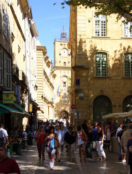 Bild: Aix-en-Provence mit Tour de l´Horloge