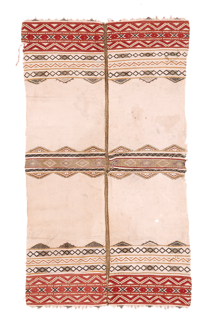 Semi-antique fine embroidered apron, from eastern Europe.