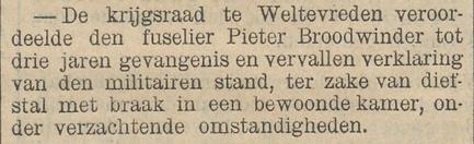 Het nieuws van den dag voor Nederlandsch-Indië 06-01-1905