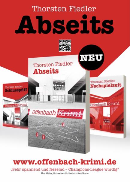 ABSEITS: neuester Fussballkrimi von Thorsten Fiedler