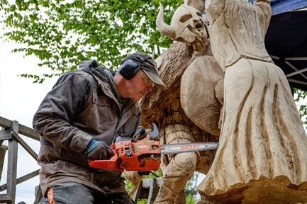 ECHO Carving Kunstwerk