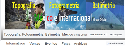 topografia fotogrametria batimetria mexico grupo oficial facebook