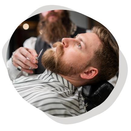 barbier en entreprise