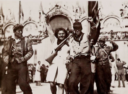 "Den antifascistiske bevægelse ""Resistenza Italiana"""
