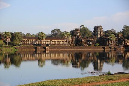 la beauté du temple d'Angkor Wat
