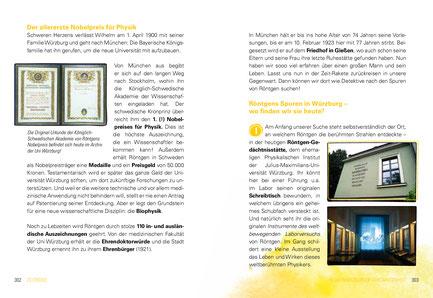 """Im Buch """"Würzburg für Kids & Co"""" erfährt man anlässlich vom Röntgen-Jubilumsjahr 2020 viel über den weltweit ersten Nobelpreisträger"""
