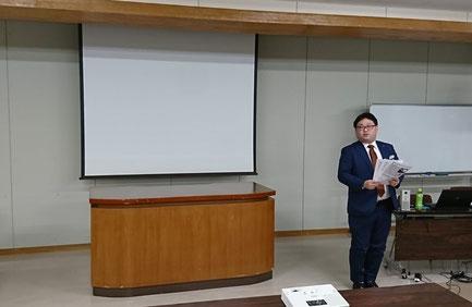 講師 三井住友海上火災保険株式会社 北海道支店 帯広支店 折茂 様