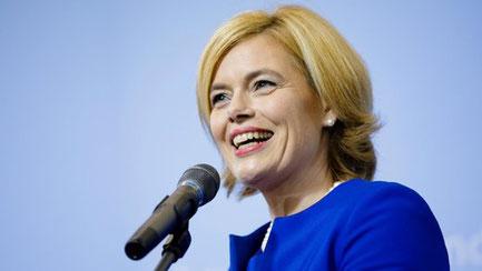 Bundesministerin Julia Klöckner. Foto: BMEL