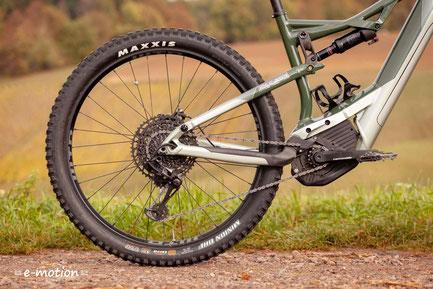 Wir haben das e-Mountainbike Moterra Neo von Cannondale für Sie getestet
