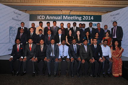 ICD's India team earlier this year at the India Annual Meeting