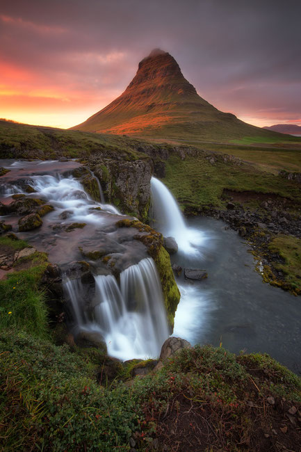 You can't miss Kirkjufell on your photography road trip around Iceland