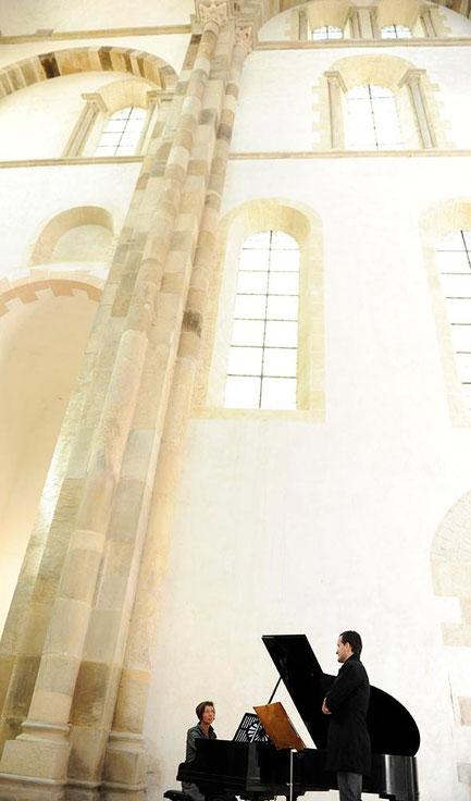 Abbaye de Cluny - Transept sud - Photo © Véronique Beuffre