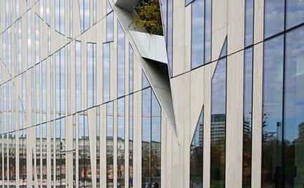 Fassade Richtung Hofgarten