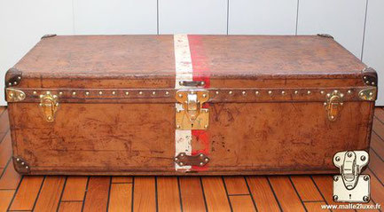 Louis Vuitton leather cabin trunk