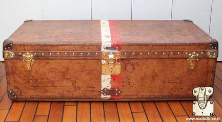 Louis Vuitton cabin trunk - Leather Year: Circa 1900