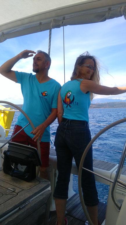 T-shirts von viagempirata Segeltoern zum anziehen