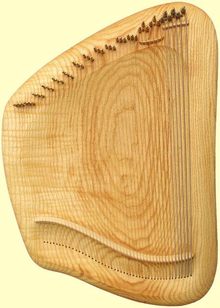 Basszus Tao-Hárfa kőris fából