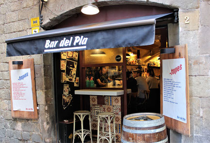 Bar del Pla in Born_Eating tapas in Barcelona
