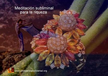 RECIBE RIQUEZA  DE FORMA INESPERADA - MEDITACIÓN SUBLIMINAL PARA LA RIQUEZA - PROSPERIDAD UNIVERSAL